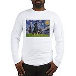 Starry / Min Pin pr Long Sleeve T-Shirt