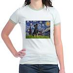 Starry / Min Pin pr Jr. Ringer T-Shirt