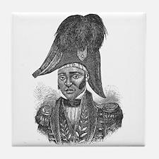 Emperor Jacques I of Haiti Tile Coaster