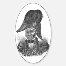 Emperor Jacques I of Haiti Oval Decal