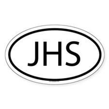 JHS Oval Decal