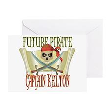 Captain Kelton Greeting Card