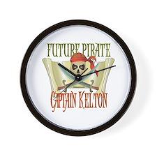 Captain Kelton Wall Clock