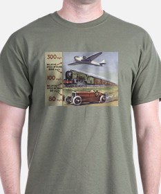 Plane, Train, Automobile T-Shirt