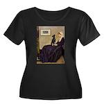 Whistler's / Min Pin Women's Plus Size Scoop Neck