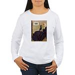Whistler's / Min Pin Women's Long Sleeve T-Shirt