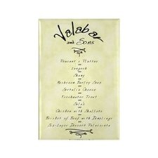 Valabar & Sons Menu Magnet