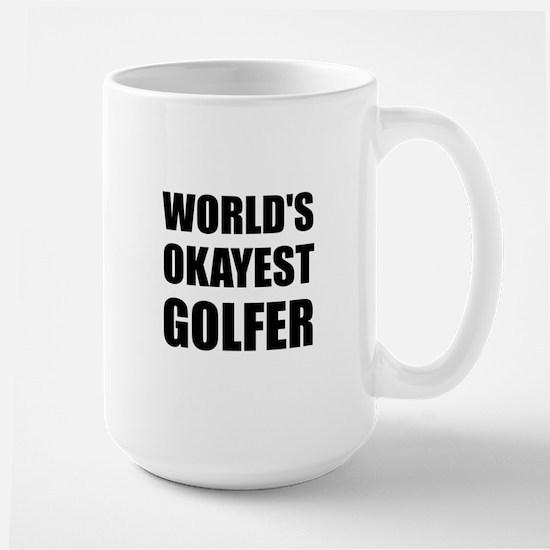 World's Okayest Golfer Mugs