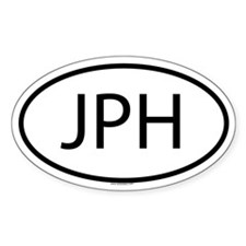 JPH Oval Decal