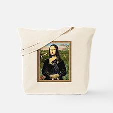 Mona / Min Pinscher Tote Bag