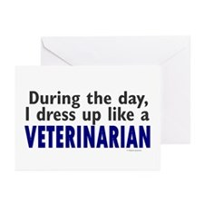 Dress Up Like A Veterinarian Greeting Cards (Pk of