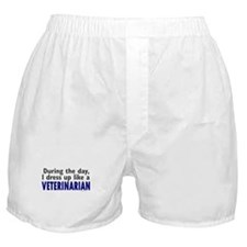 Dress Up Like A Veterinarian Boxer Shorts