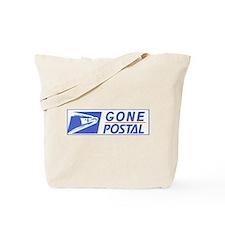 Gone Postal Tote Bag