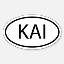 KAI Oval Decal
