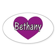 Bethany Oval Decal