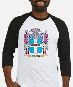 Ryland Coat of Arms - Family Crest Baseball Jersey