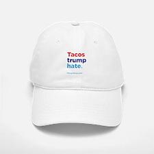 Tacos Trump Hate: Hillary 2016 Baseball Baseball Baseball Cap