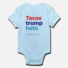 Tacos Trump Hate: Hillary 2016 Body Suit
