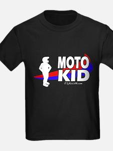 Moto Kid Kids Black T-Shirt