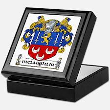 McLaughlin Coat of Arms Keepsake Box