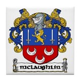 Mclaughlin family crest Drink Coasters
