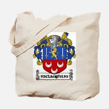 McLaughlin Coat of Arms Tote Bag