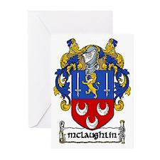 McLaughlin Coat of Arms Greeting Cards (Pk of 10)