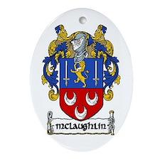 McLaughlin Coat of Arms Keepsake Ornament