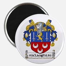 "McLaughlin Coat of Arms 2.25"" Magnet (10 pack)"