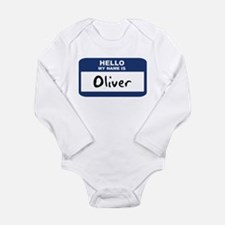 Hello: Oliver Body Suit