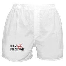 Off Duty Nurse Practitioner Boxer Shorts