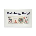 Mah Jong Baby Rectangle Magnet (10 pack)