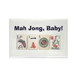Mah Jong Baby Rectangle Magnet (100 pack)