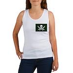 Green Pirate Women's Tank Top