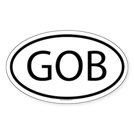 GOB Oval Sticker