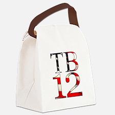 TB 12 Canvas Lunch Bag