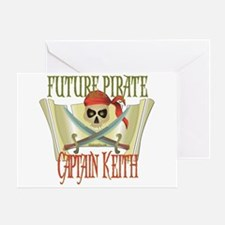 Captain Keith Greeting Card