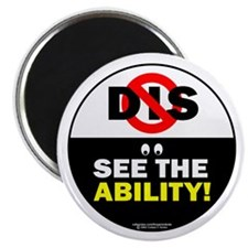 """See the Ability 2.25"""" Magnet (100 pack)"""