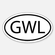 GWL Oval Decal