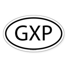 GXP Oval Decal
