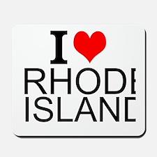 I Love Rhode Island Mousepad