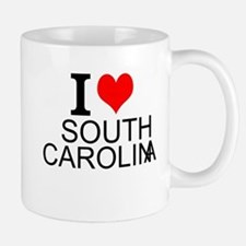 I Love South Carolina Mugs