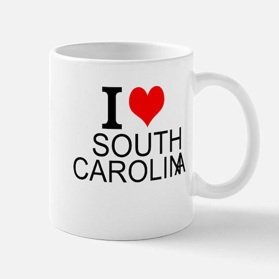 I Love South Carolina Mugs