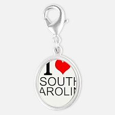 I Love South Carolina Charms