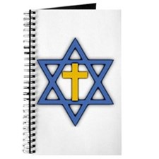 Star of David with Cross Journal