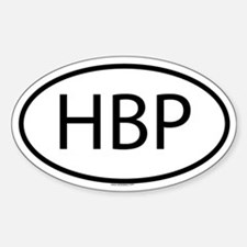 HBP Oval Decal