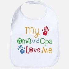 Cute My human loves me Bib