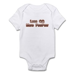 Less Crying and more Fighting Infant Bodysuit