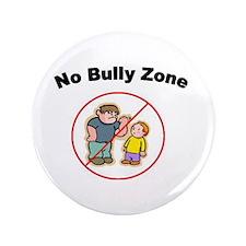 "No Bully Zone - 3.5"" Button"
