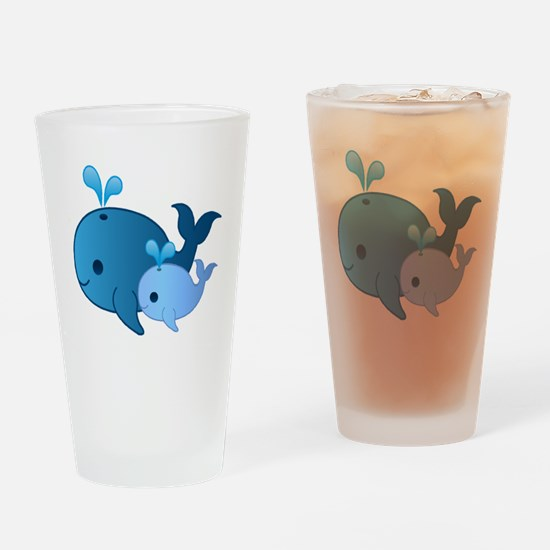 Baby Whale Drinking Glass